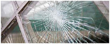 Eastbourne Smashed Glass
